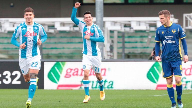 Chucky Lozano: Napoli conoce su calendario para la temporada 2021-2022