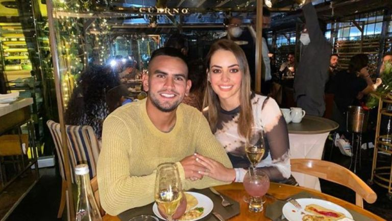 Sebastián Vegas junto a Ana Luisa Ganuza