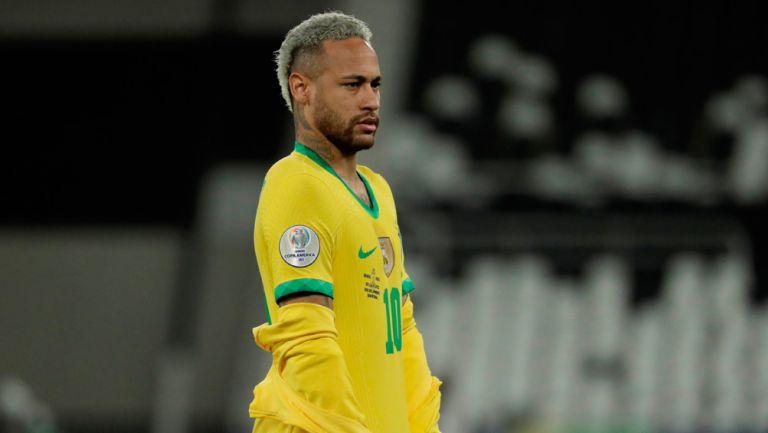 Neymar, previo a un juego de Copa América