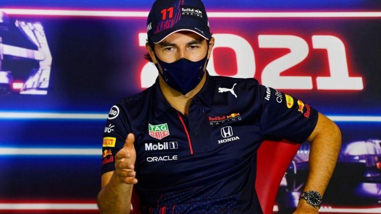 Sergio Pérez quiere renovar con Red Bull