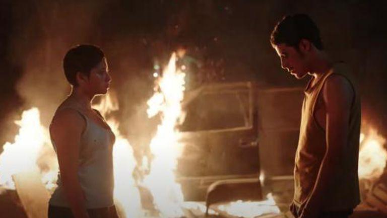 """Captura del largometraje """"Noche de Fuego"""""""