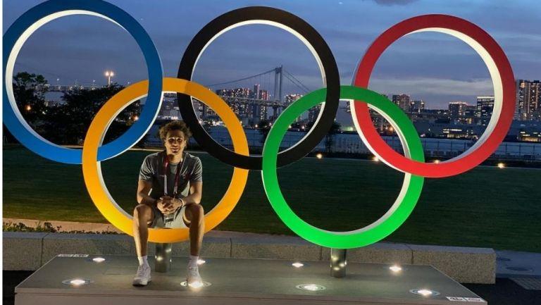 Ochoa en la Villa Olímpica