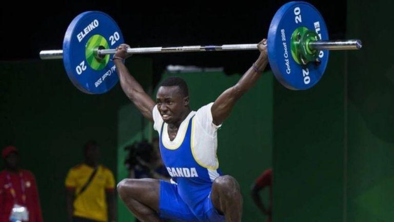 Julius Ssekitoleko en una competencia