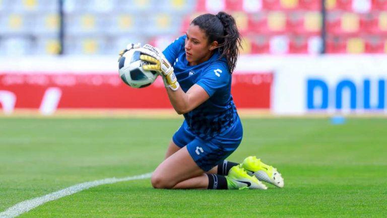 Vanessa Córdoba en partido