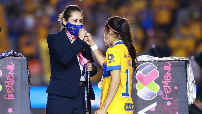Mariana Gutiérrez, directora de la Liga MX Femenil