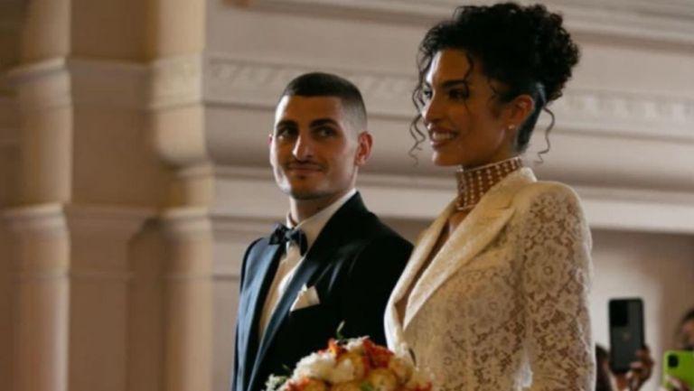 Verratti y Jessica Aidi contraen nupcias en París