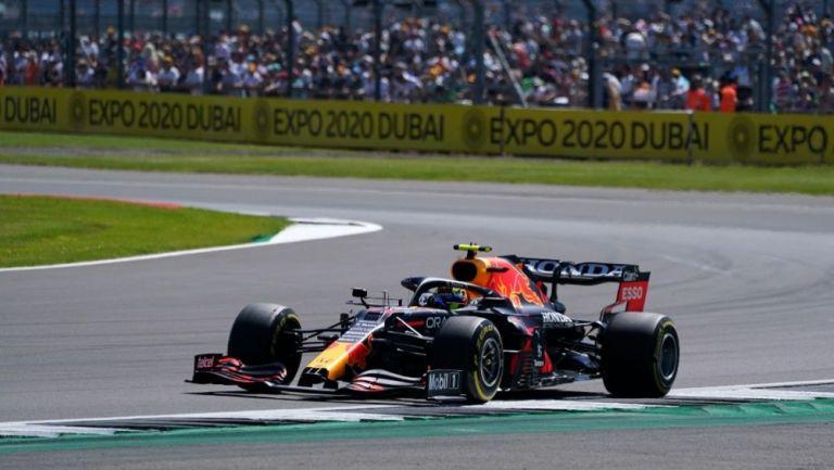 Sergio Pérez en las clasificatorias para el GP de Gran Bretaña