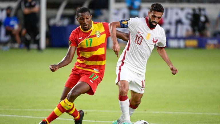 Qatar y Granada en partido