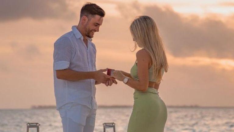 Nicolás Tagliafico se comprometió con Caro Calvagni