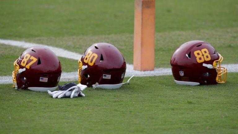 Cascos de Washington Football Team