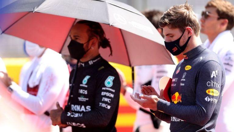 Max Verstappen en el GP de Gran Bretaña