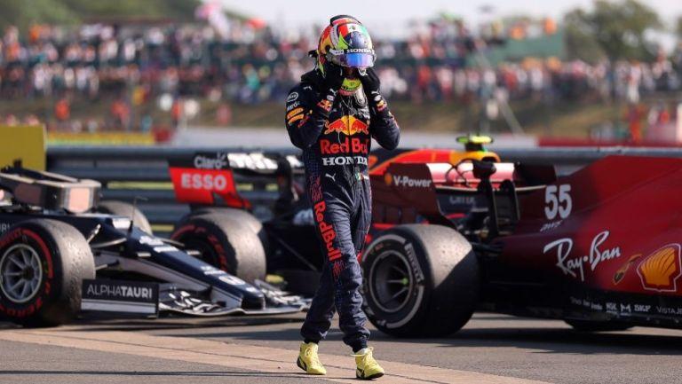 Sergio Pérez tras el GP de Gran Bretaña