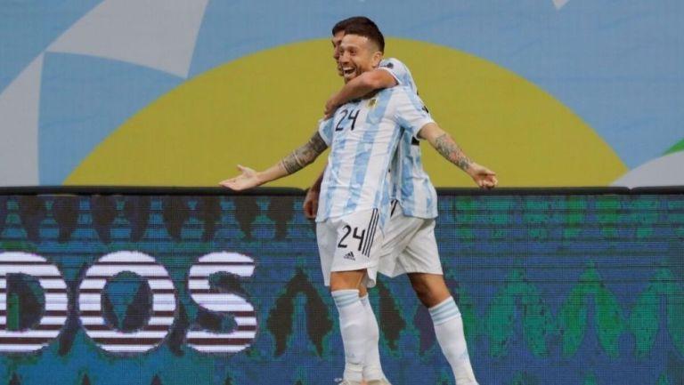 Papu Gómez con Argentina
