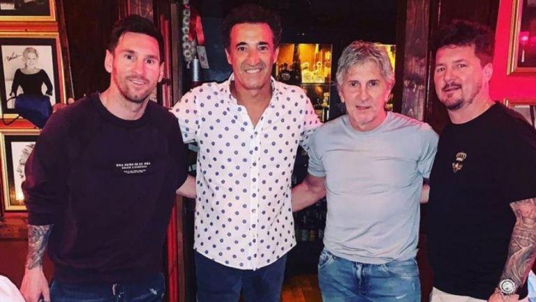 Lionel Messi acudió a restaurante de las estrellas en Miami