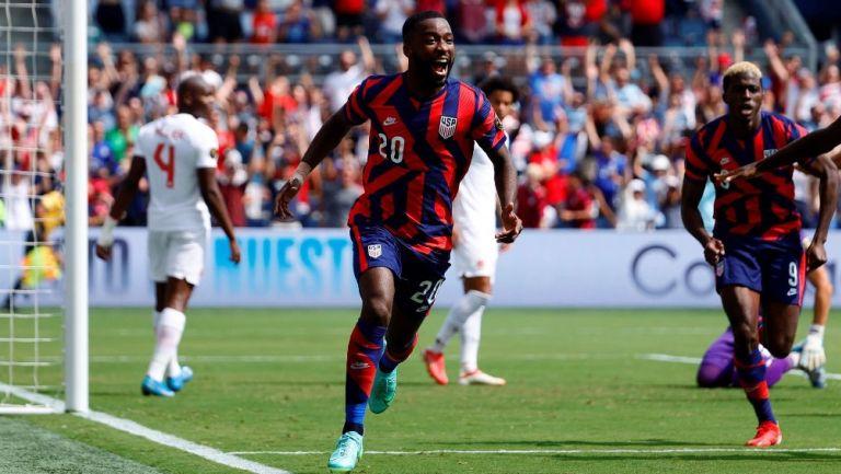 Copa Oro: Estados Unidos venció a Canadá y se quedó con el Grupo B