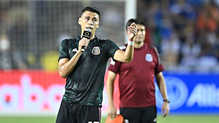 Héctor Moreno previo al partido vs El Salvador