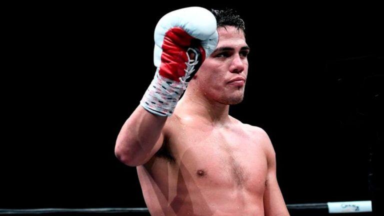 Brian Castaño en un combate