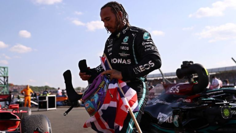 El séptuple campeón del mundo Lewis Hamilton