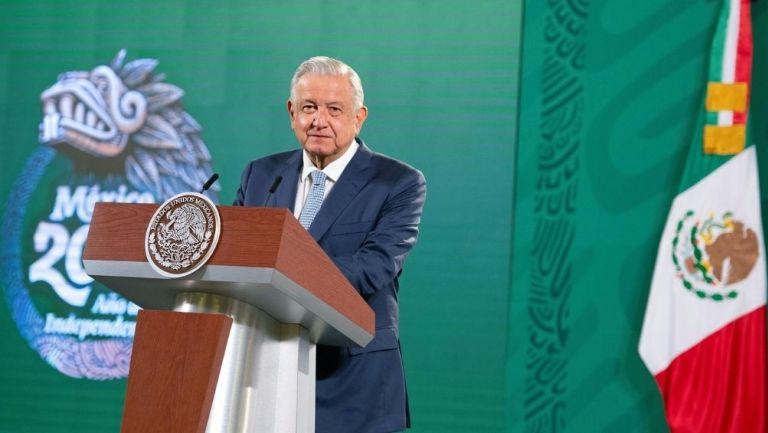 López Obrador en conferencia