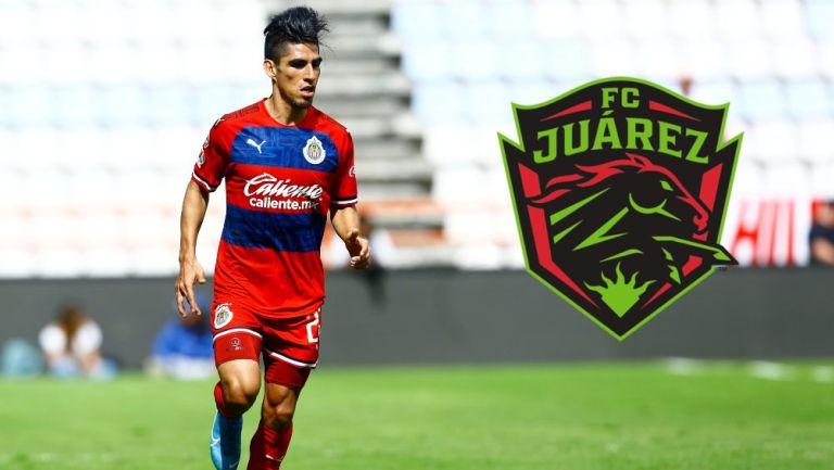 José Madueña en acción con Chivas
