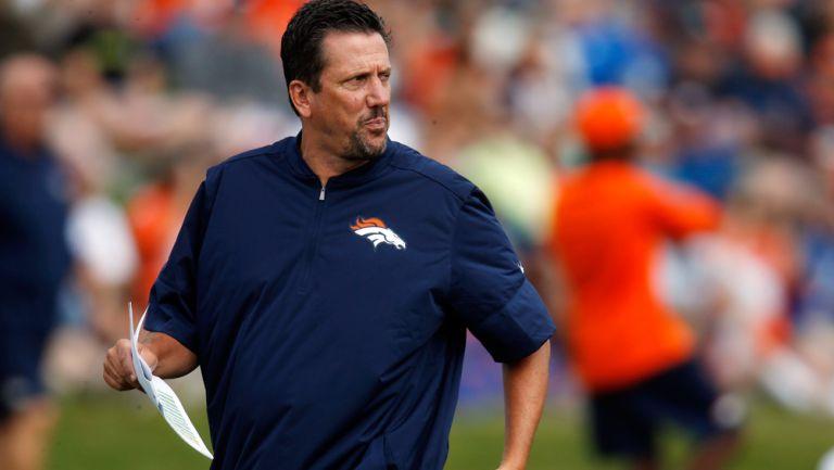 Greg Knapp, en su etapa con los Broncos