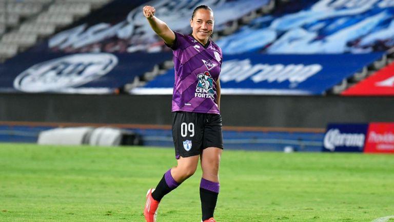 Charlyn Corral: 'Estoy impresionada con lo que vive una jugadora profesional en México'