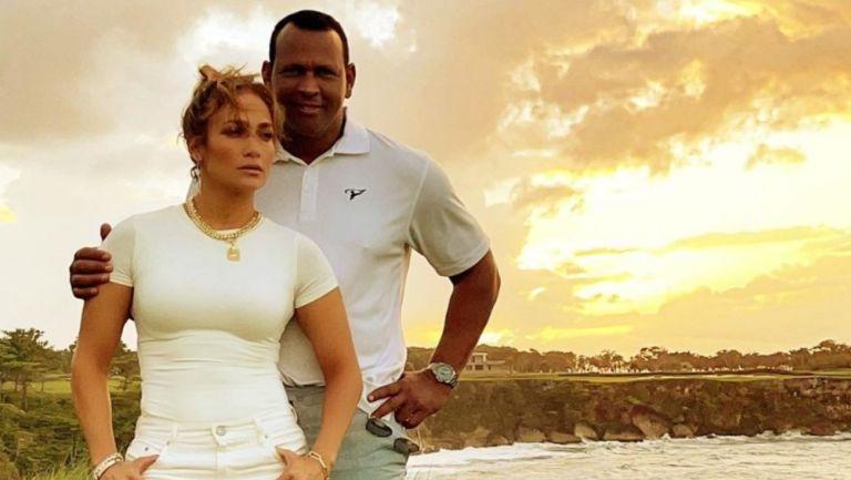 Jennifer López y Alex Rodríguez en República Dominicana