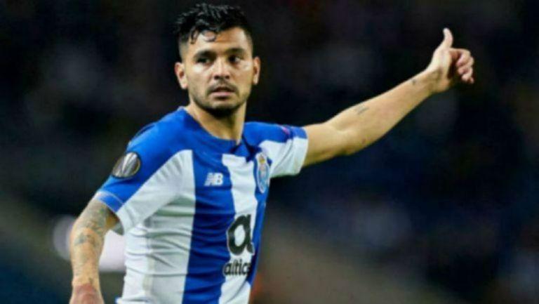Jesús Manuel Corona en partido del Porto