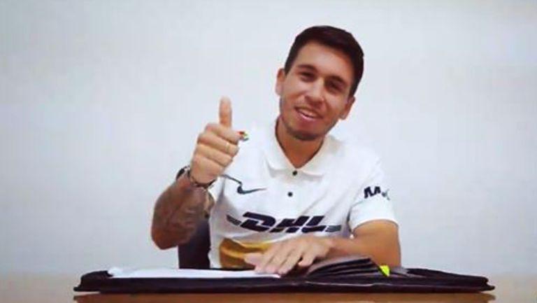 Cristian Battocchio, en video de presentación