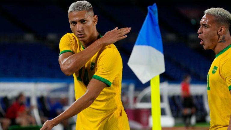 Juegos Olímpicos: Richarlison es la burla de los argentinos tras su debut en Tokio