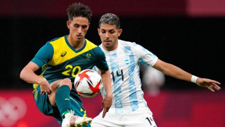 Argentina y Australia en partido