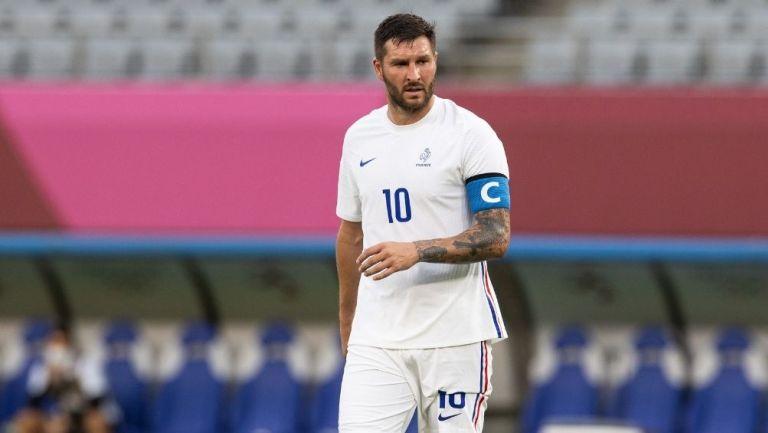 Gignac en el juego con Francia
