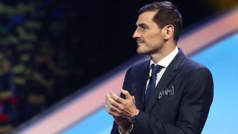Iker Casillas en presentación
