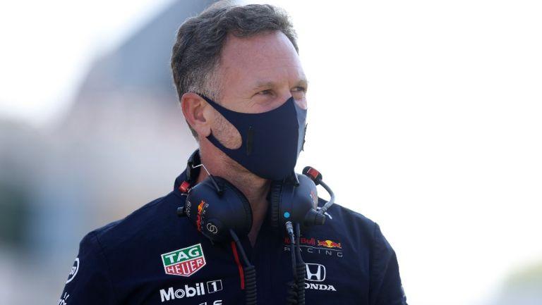 Director de la escudería Red Bull, Christian Horner