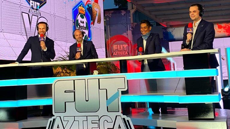 Reportero de TUDN apareció en la transmisión de Azteca del Juárez vs Toluca