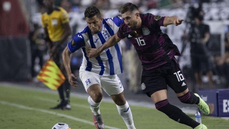 HH en el juego vs Honduras