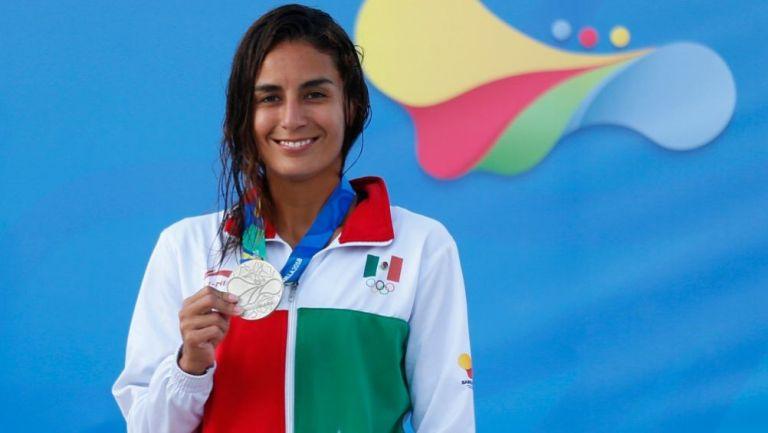 Paola Espinosa en los Juegos Centroamericanos y del Caribe Barranquilla 2018