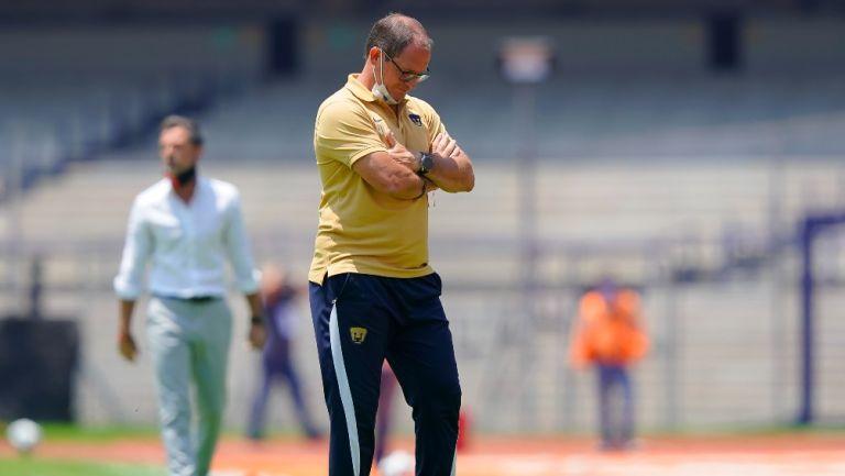 Andrés Lillini en empate vs Atlas