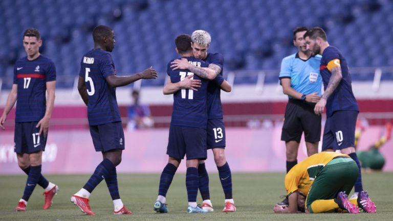 Tokio 2020: Francia, con tres goles de Gignac, venció a Sudáfrica