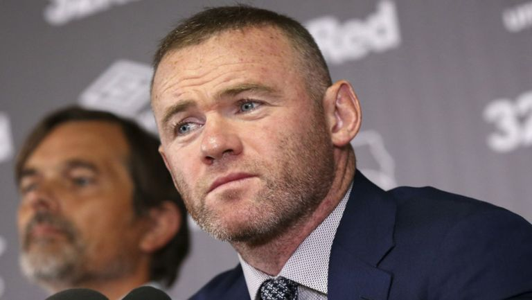 Wayne Rooney, en conferencia de prensa