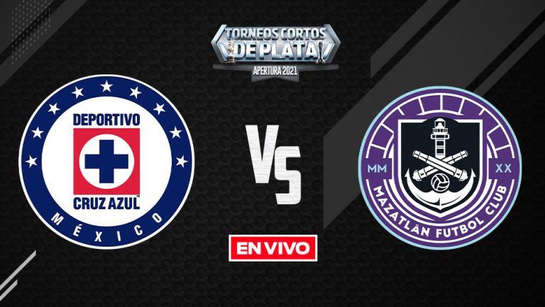 EN VIVO Y EN DIRECTO: Cruz Azul vs Mazatlán FC Apertura 2021 J1