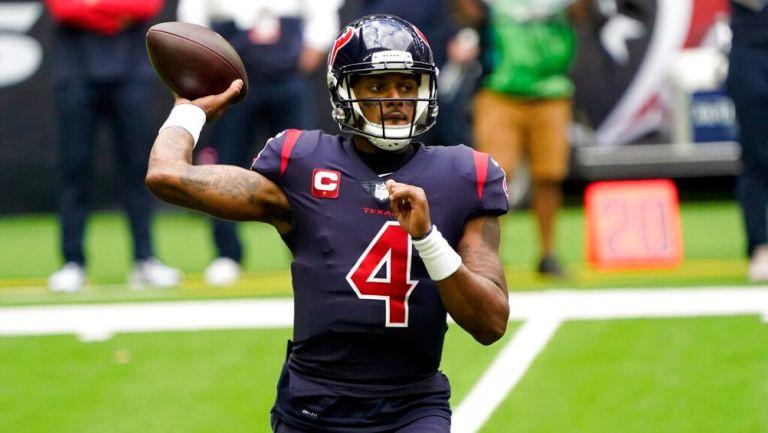 NFL: Deshaun Watson planea reportar con Texans para evitar multa de 50 mil dólares diarios