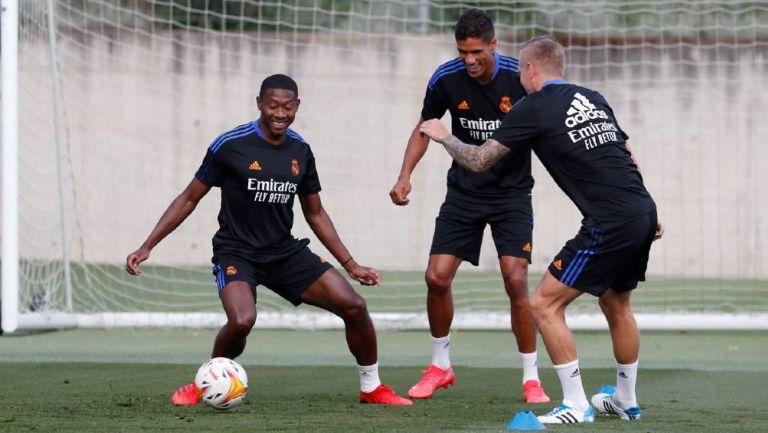 Real Madrid: Modric, Kroos, Varane, Alaba y Bale regresaron a entrenar