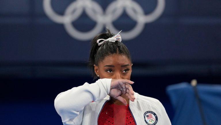 Simone Biles en los Juegos Olímpicos de Tokio 2020