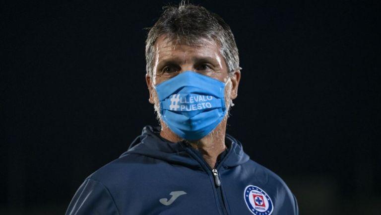 Robert Dante Siboldi como estratega de Cruz Azul