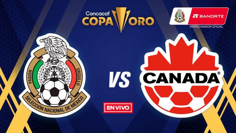 EN VIVO Y EN DIRECTO: México vs Canadá Copa Oro Semifinal