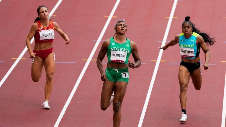 Blessing Okagbare fue suspendida por antidoping