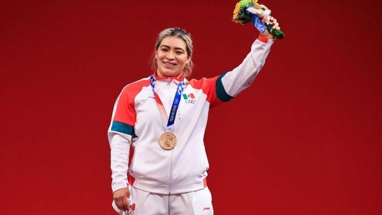 Fuentes se colgó el bronce olímpico