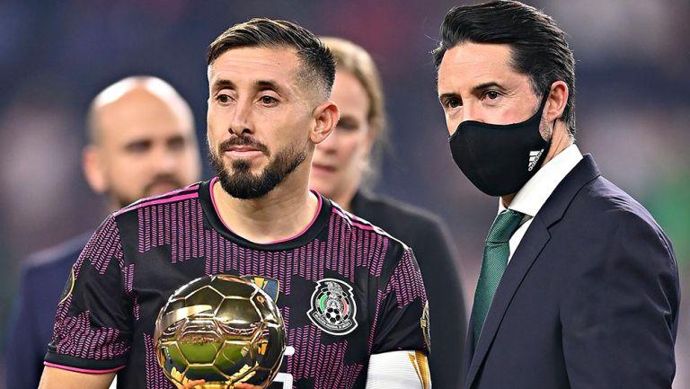 Selección Mexicana: Héctor Herrera, elegido el Mejor Jugador de la Copa Oro