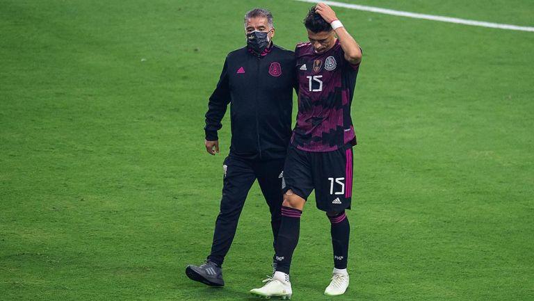 Selección Mexicana: Héctor Moreno, al borde del llanto tras lesión en Final de Copa Oro